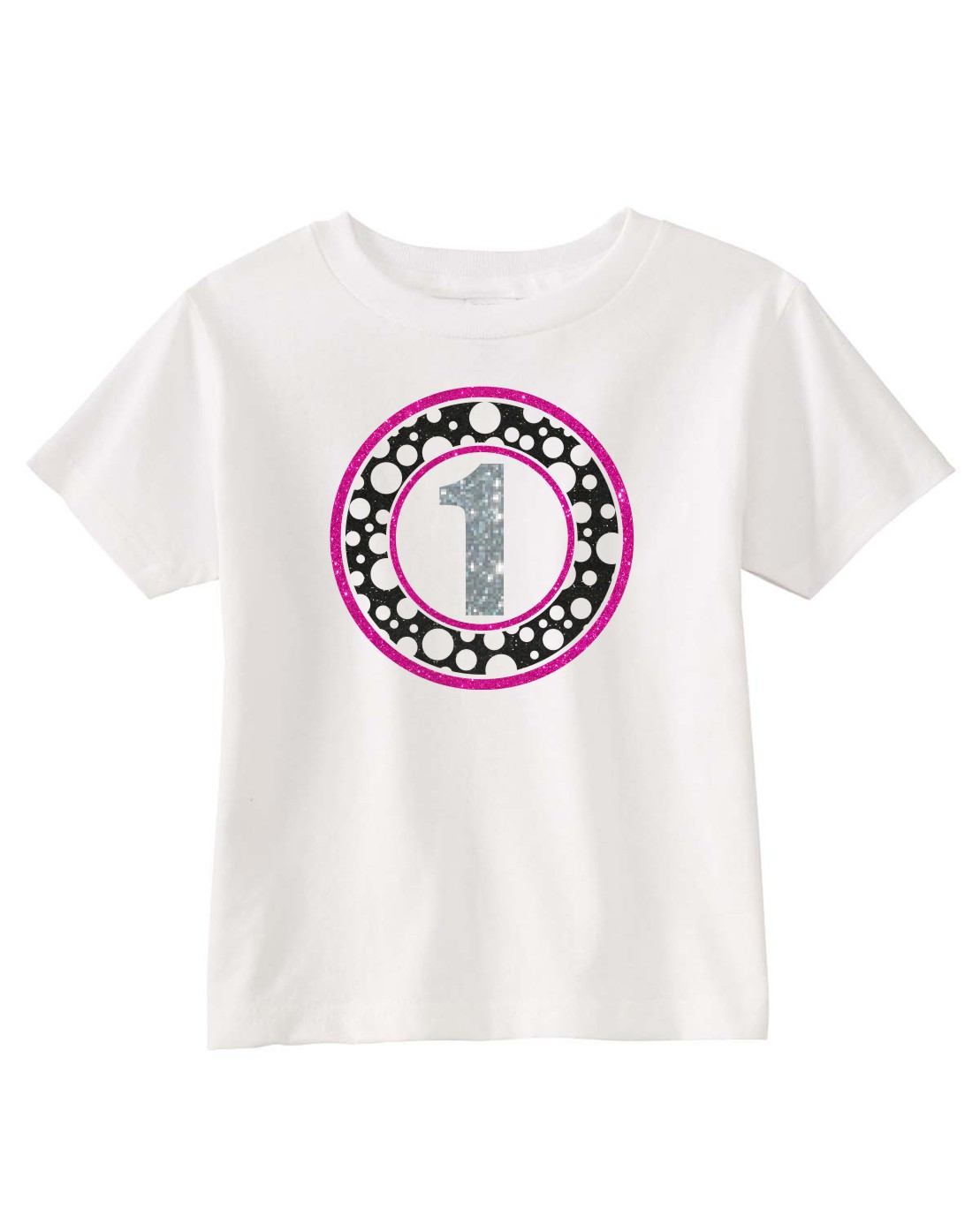 Circle Polka Dot Birthday Shirt
