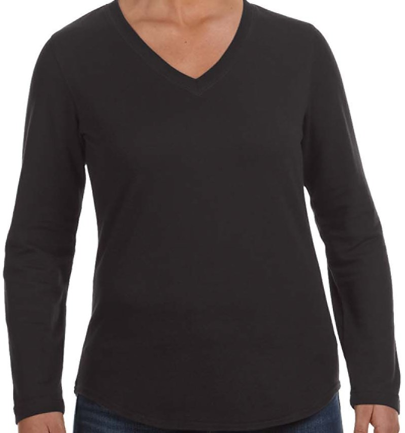 LAT 3761 Ladies' V-Neck Pullover