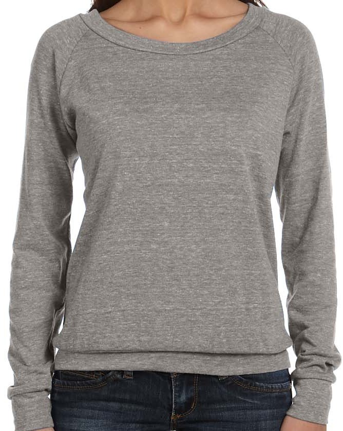 Alternative Apparel AA1990  Ladies' Slouchy Pullover