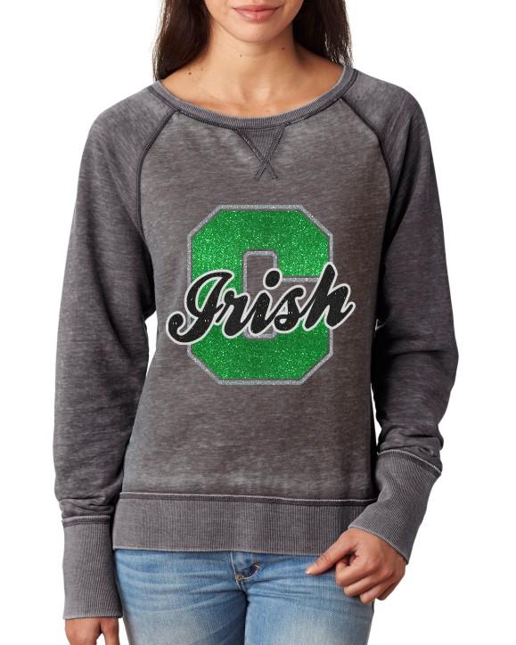 Chapman Glitter Solid Sweatshirt J America