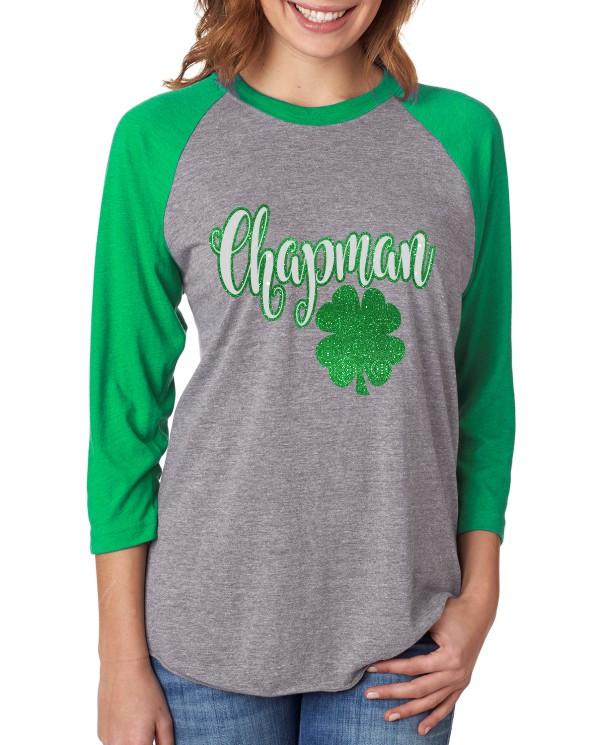 Chapman Glitter Baseball  Tee