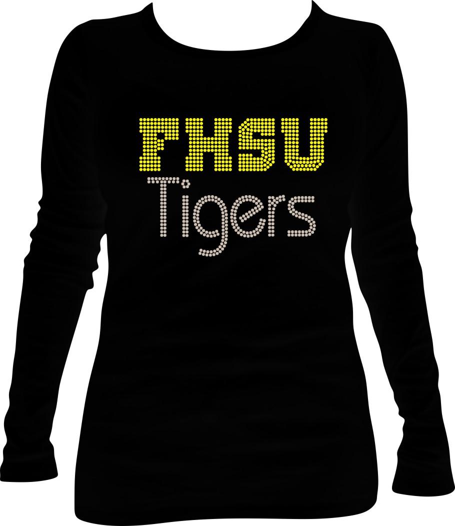 Rhinestone FHSU Tigers