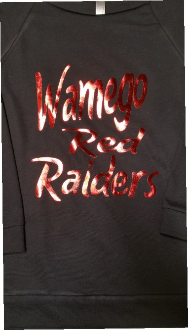 Wamego Red Raiders in Foil