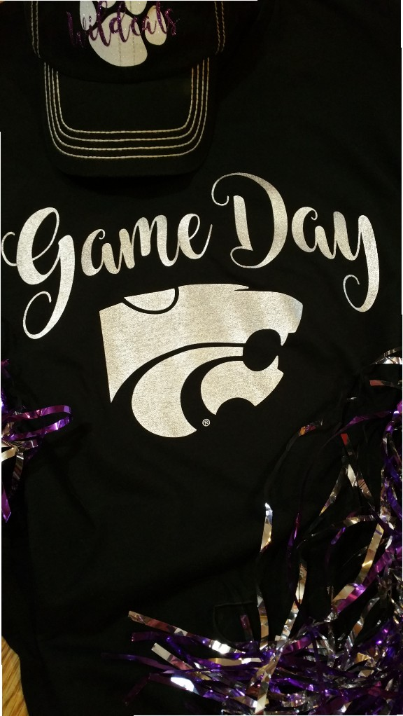 Wildcats Game Day Foil Shirt