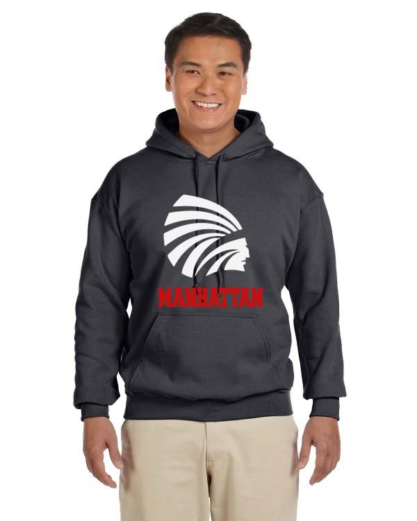 Men's Gildan Vinyl hoodie
