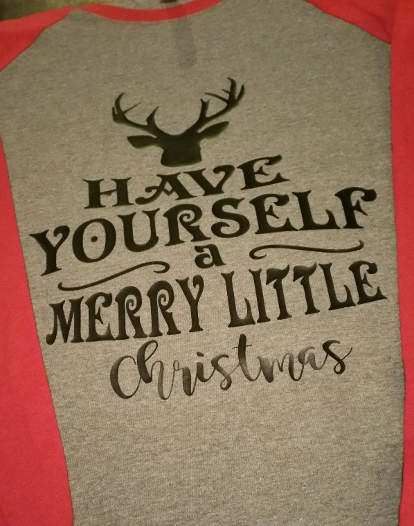 Have Yourself a Merry Little Christmas Baseball Tee