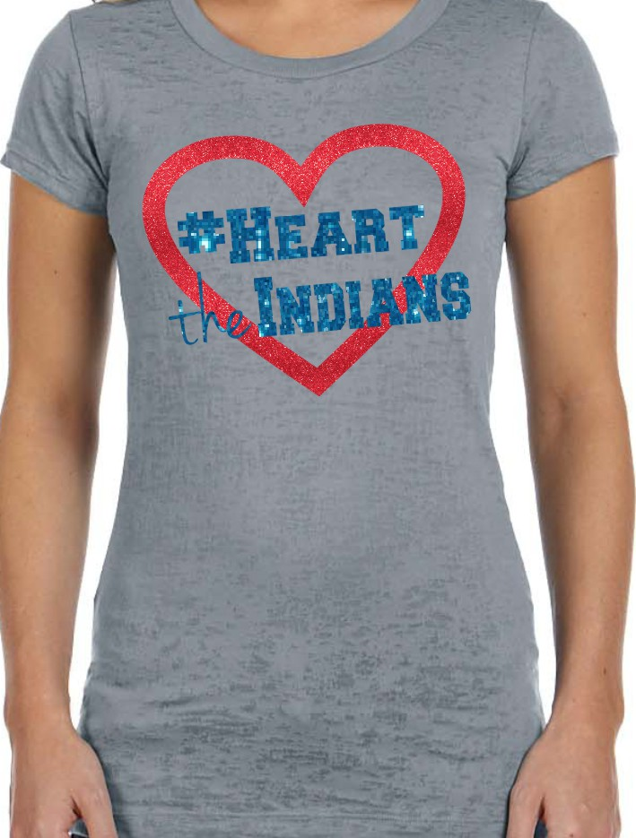 #Heart the Indians Burnout