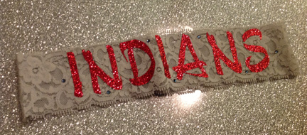 Indians Lace Headband