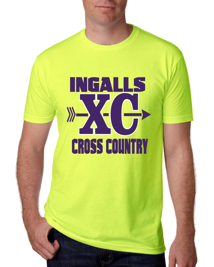 Ingalls Cross Country T-Shirt 2017