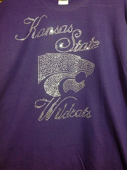Kansas State University Purple Shirt