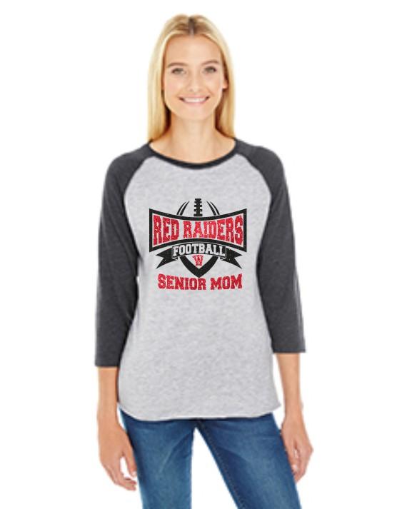 LAT Ladies' Baseball Fine Jersey T-Shirt