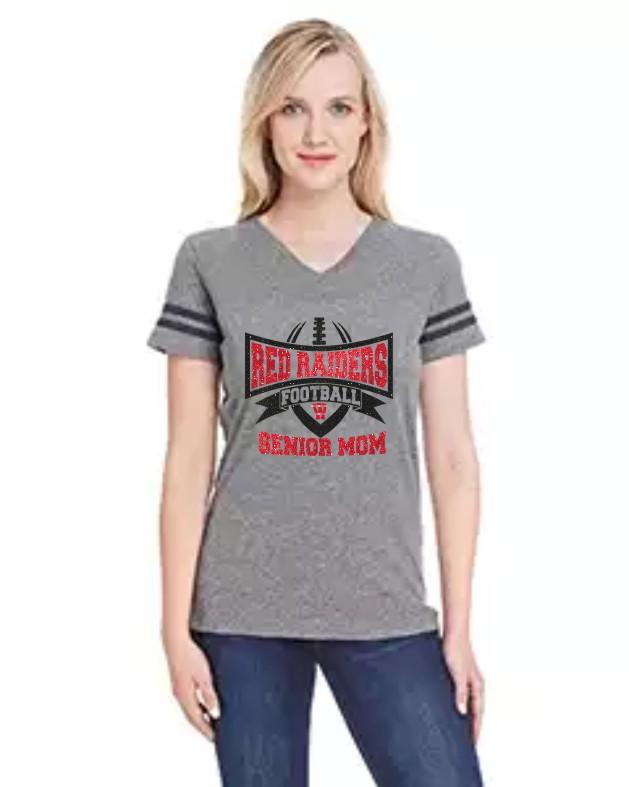 3537 LAT Ladies' Football Fine Jersey T-Shirt