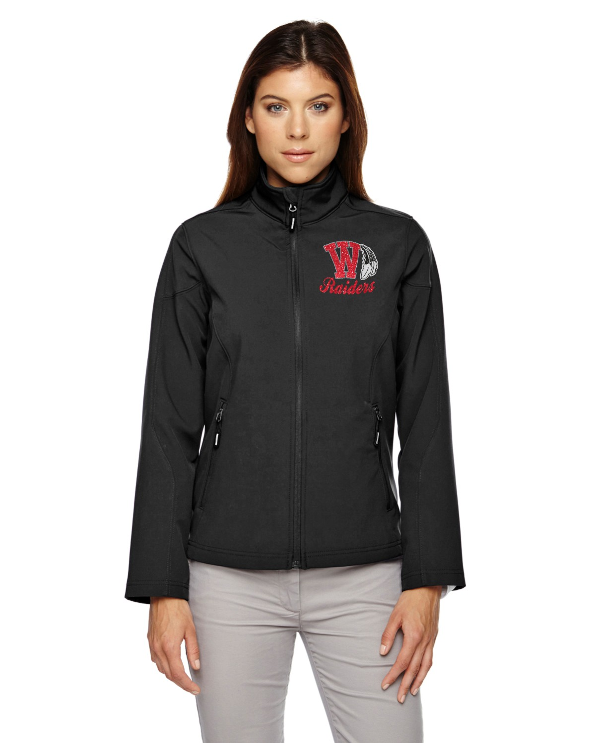 Ladies Soft Shell Raiders Jacket