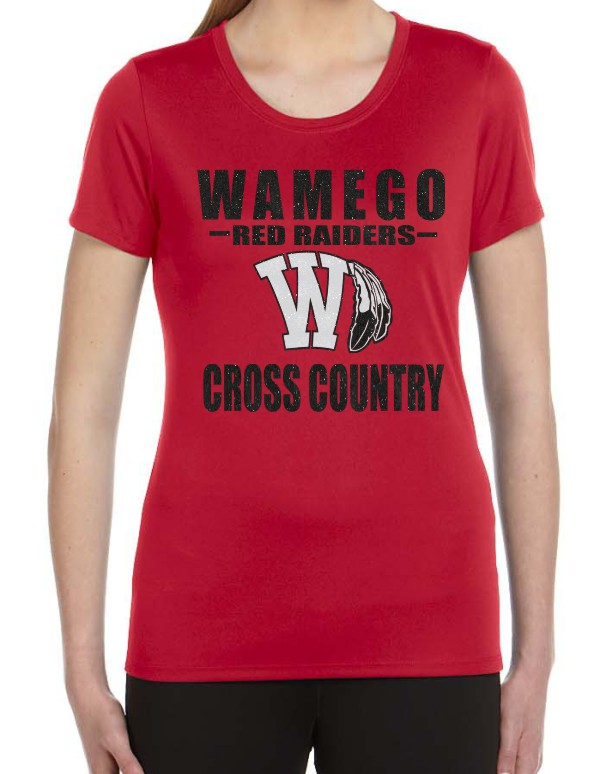 Glitter Wamego Cross Country Ladies Performance