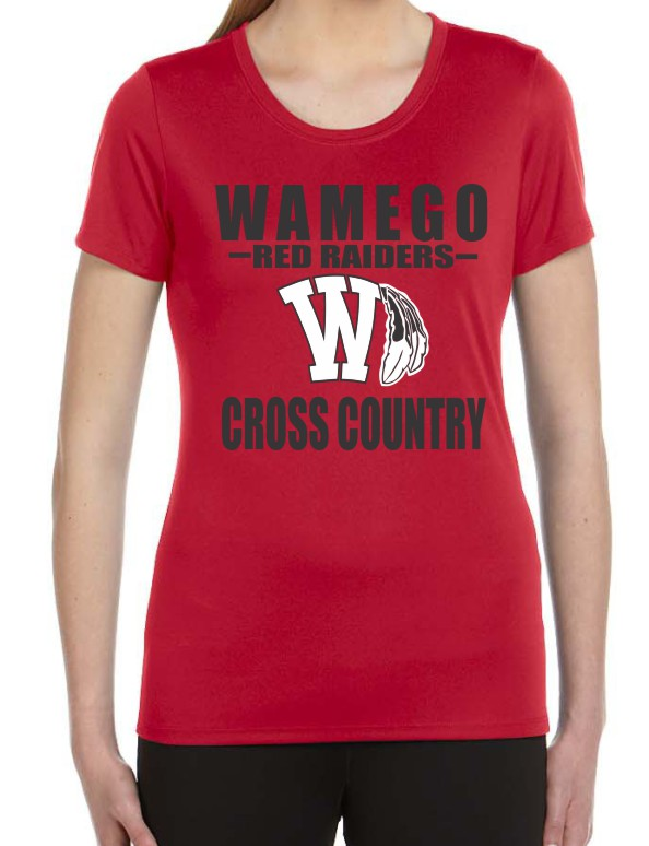 Ladies Vinyl Wamego Cross Country Performance