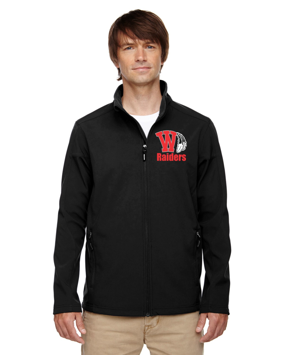 Men's Soft Shell Raiders Jacket