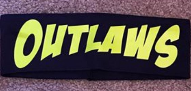 Outlaws Head Band