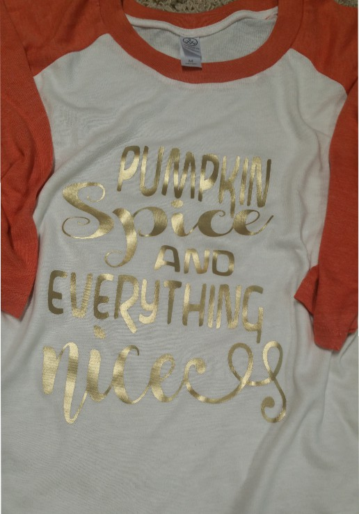 Pumpkin Spice and Everything Nice Baseball Tee