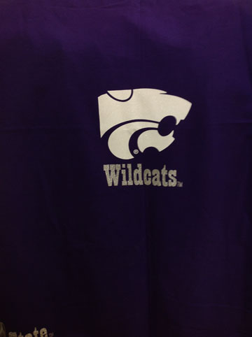 KSU Wildcats Stadium Blanket