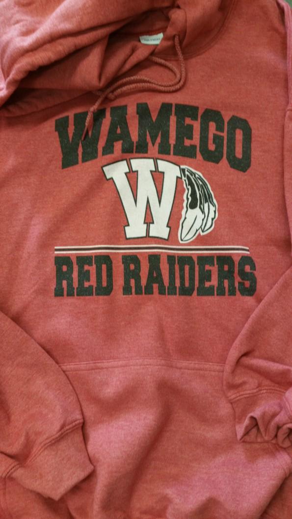 WHS Men's Gildan Red Vintage Hoodie
