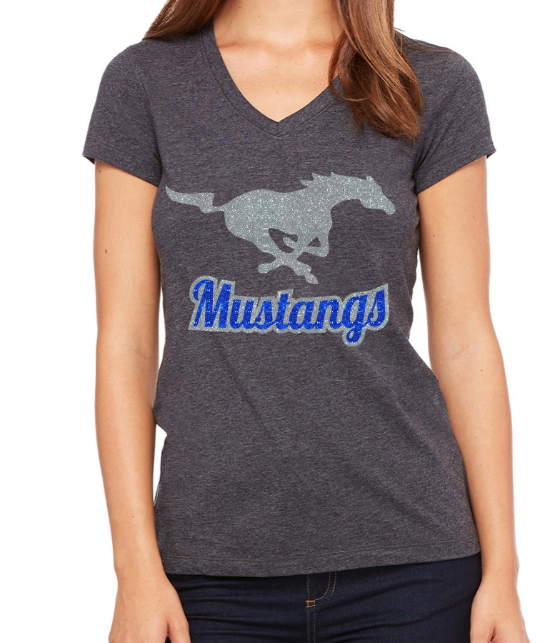 Glitter Mustang