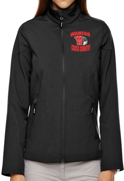 Ladies Vinyl Wamego Cross Country Jacket
