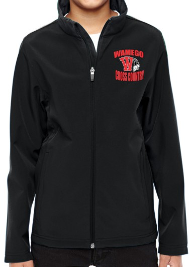 Youth Vinyl Wamego Cross Country Jacket