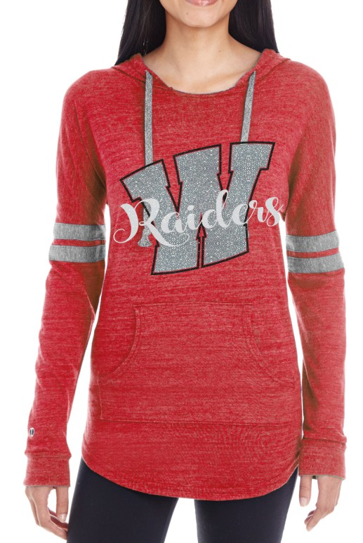Glitter Raiders Holloway Ladies Hoodie
