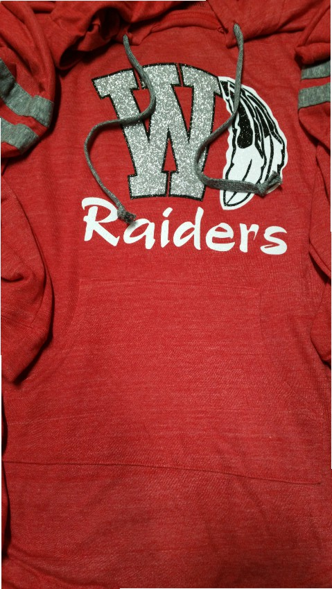 Wamego Raiders Light Weight Hoodie