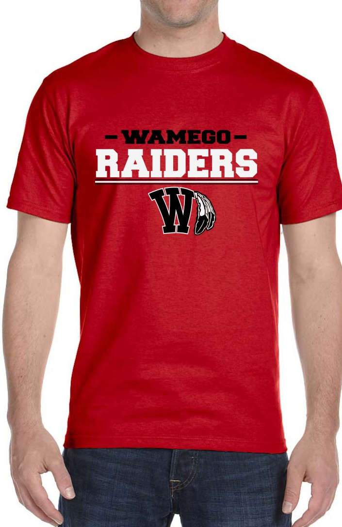 Men's Vinyl Raiders Red T-Shirt