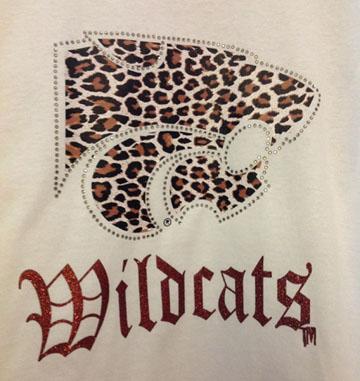 White Leopard Print Power Cat