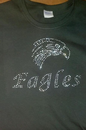 Eagles Rhinestone T-Shirt