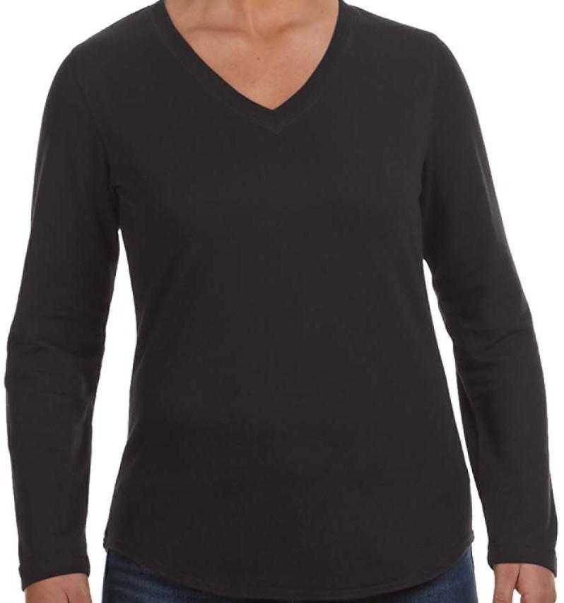 LAT 3761 Ladies' V-Neck Pullover