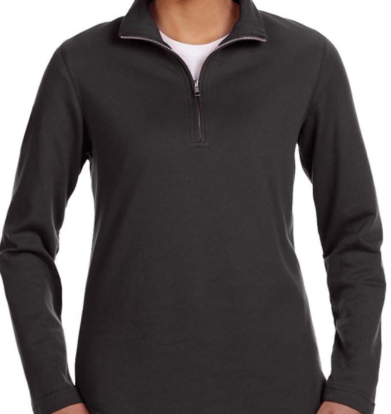 LAT 3764 Ladies' Quarter-Zip Pullover
