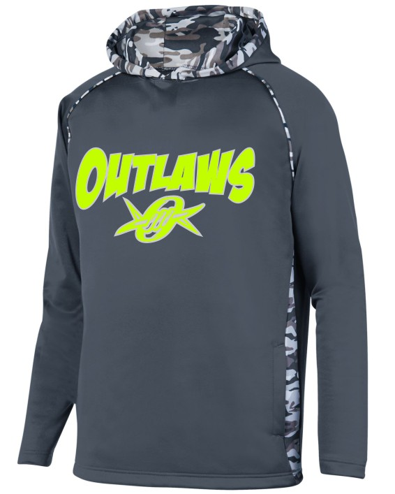 Outlaws Augusta Adult Performance Hoodie