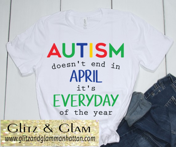 Autism Awareness Does Not End In April T-Shirt