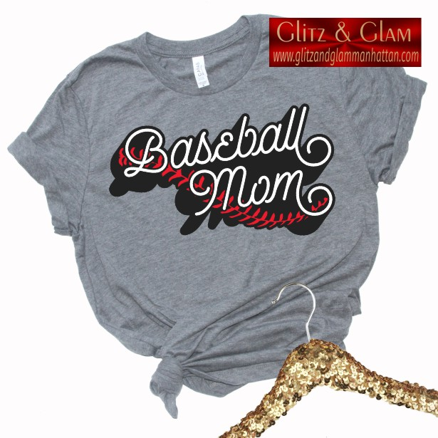 Baseball Mom Printed Tee