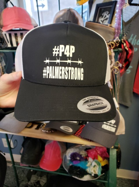 P4P Palmer Strong Vinyl Cap Design in the Middle of Cap