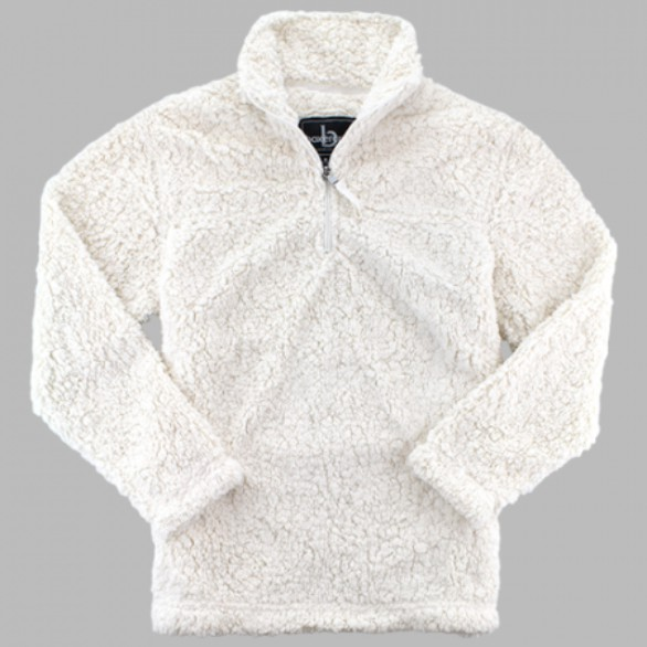 Sherpa Quarter Zip from Boxercraft in  Natural