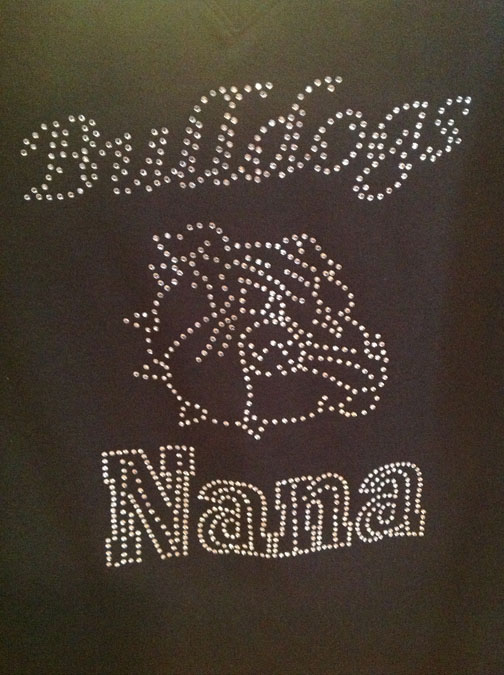 Bulldog Nana Shirt