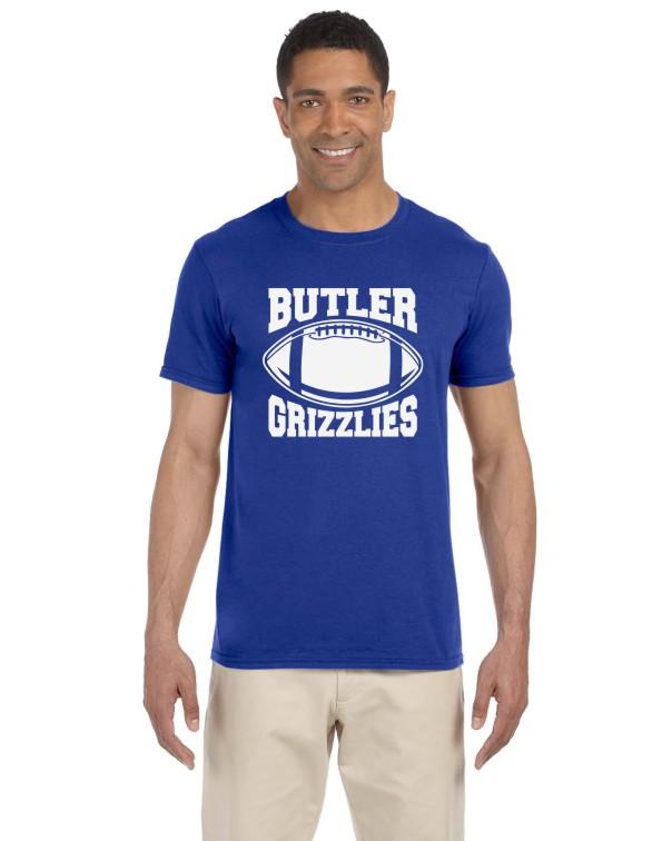 Butler Grizzlies Men's T-Shirt
