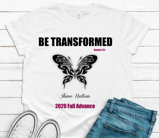 Be Transformed T-Shirt