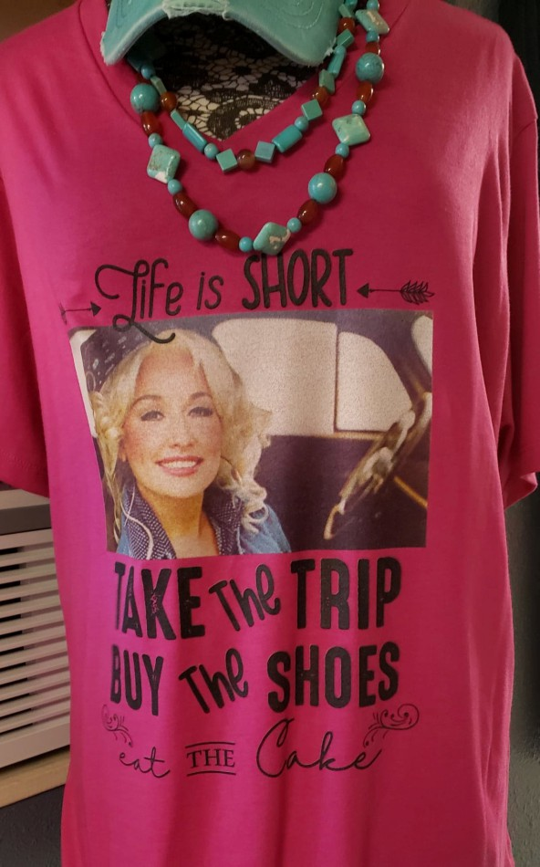 Dolly Take the Trip Eat the Cake Buy the Shoes