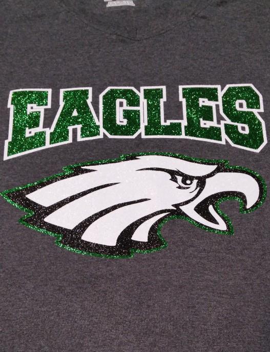 Eagles in Glitter for EMS