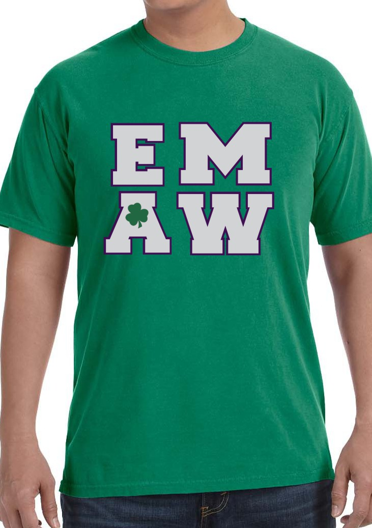 EMAW with Shamrock in Vinyl