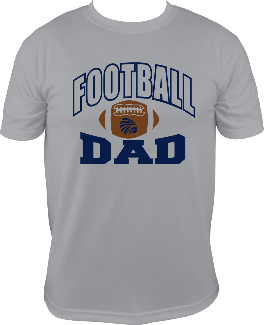 Football Dad with Power Indian