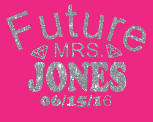 Glitter Future Mrs.Jones