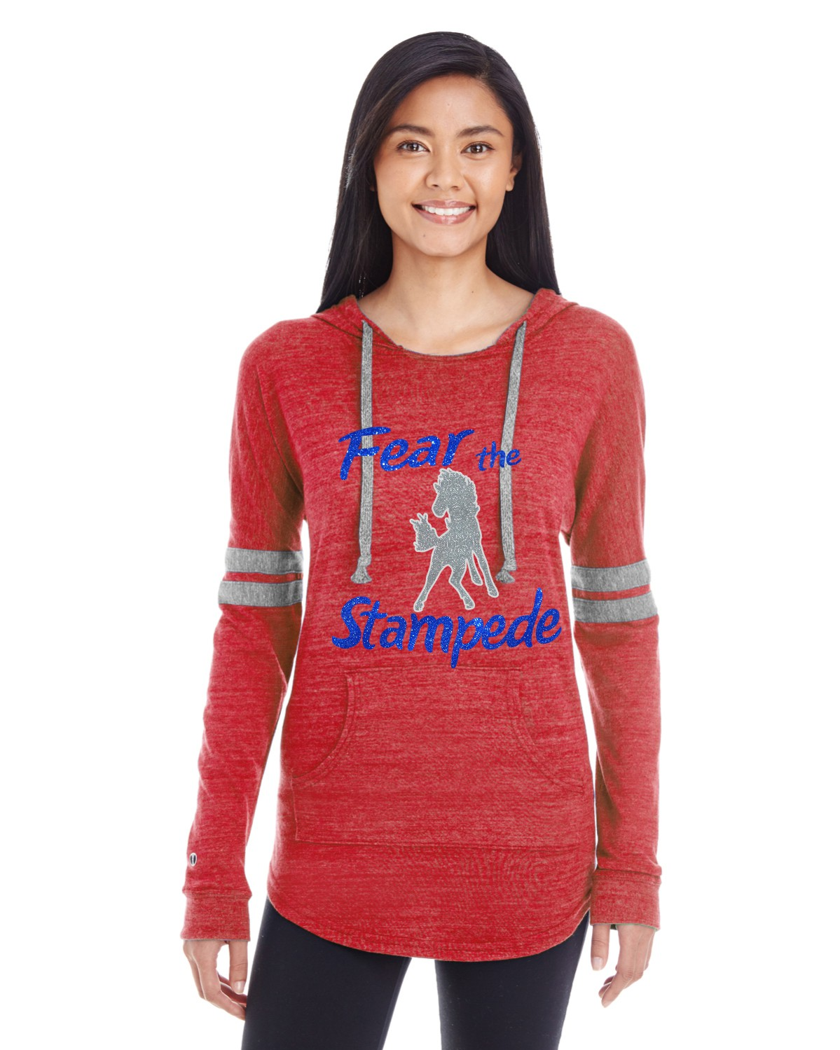 Holloway Glitter Fear the Stampede Hoodie