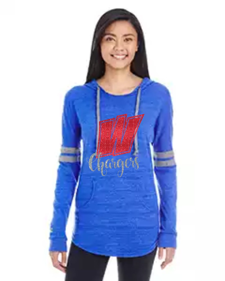 Holloway Glitter Chargers Hoodie