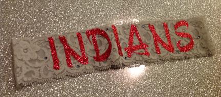 Indians Lace Headband